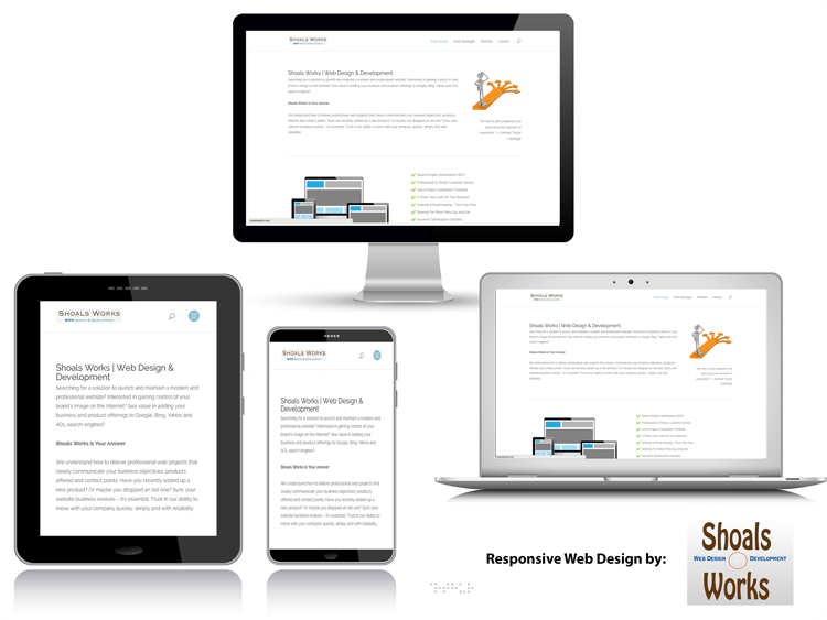 What's a Responsive Website?