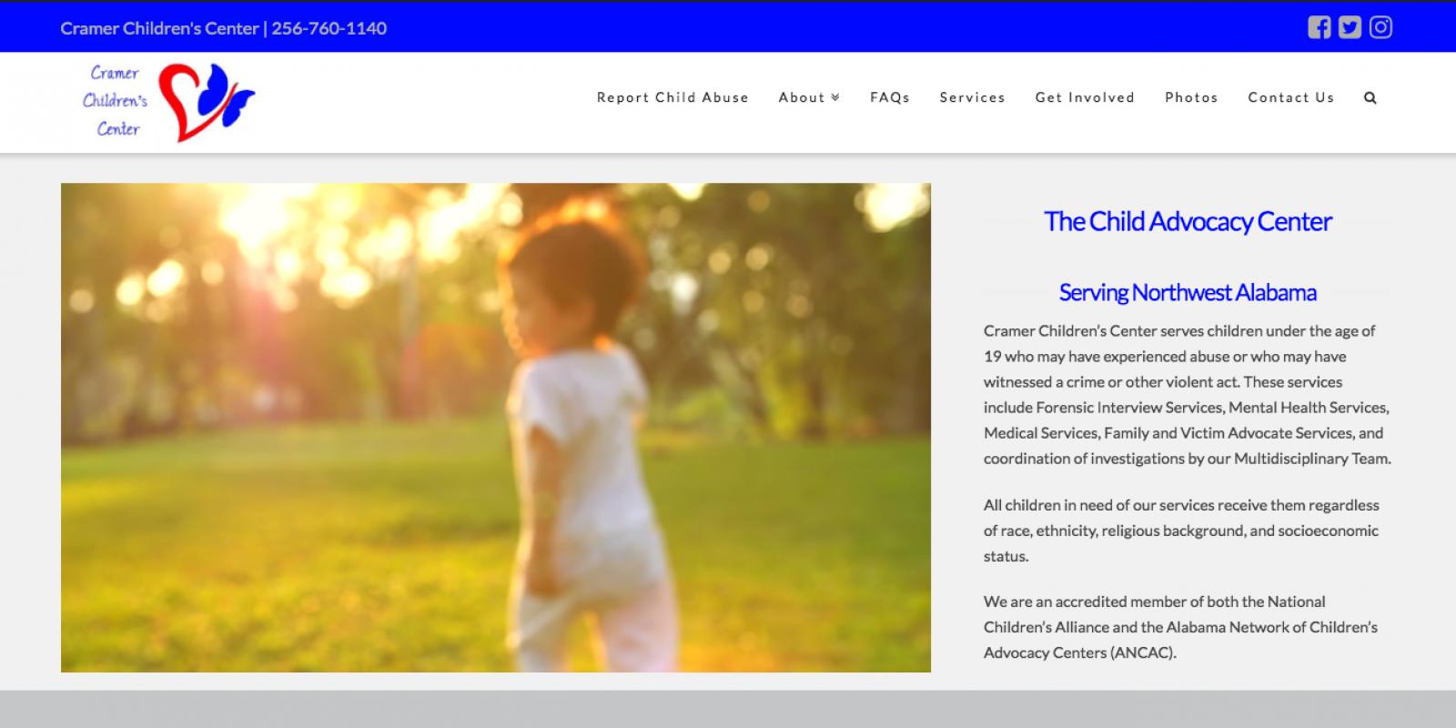 Shoals Works Client: Cramer Children's Center