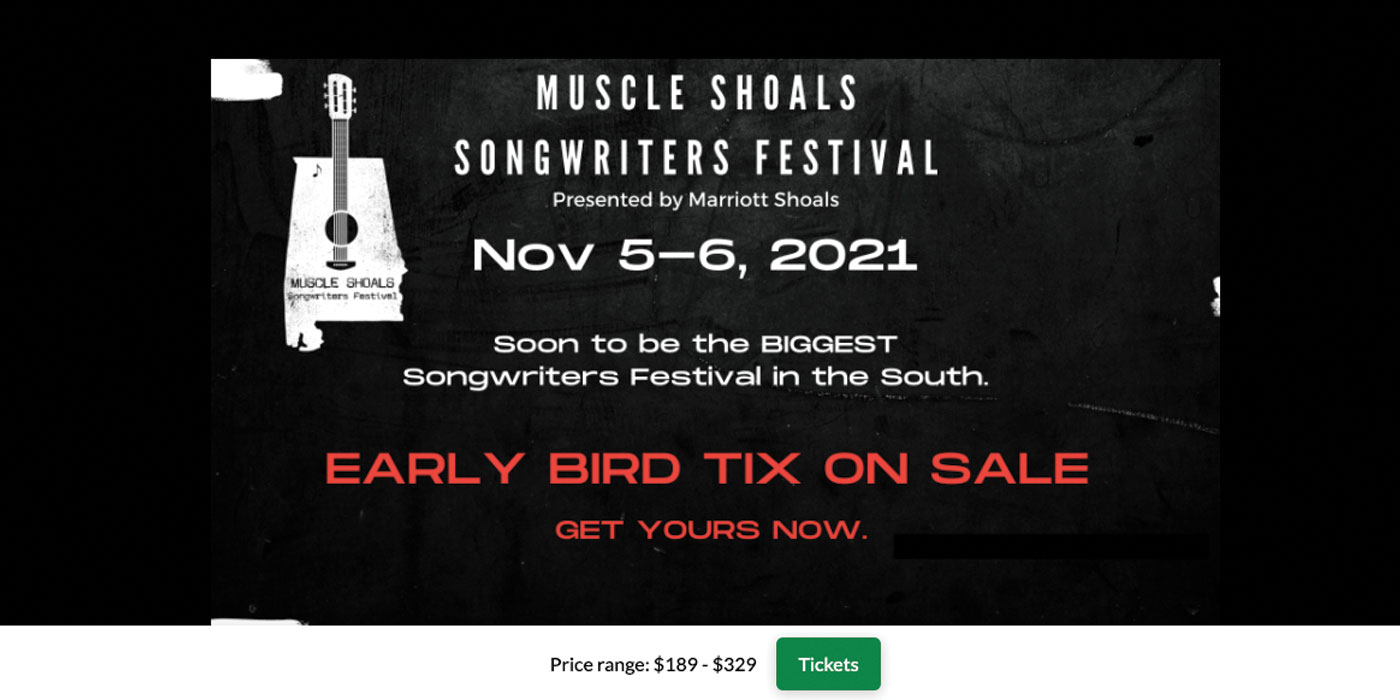 """Featured image for """"Muscle Shoals Songwriters Festival"""""""