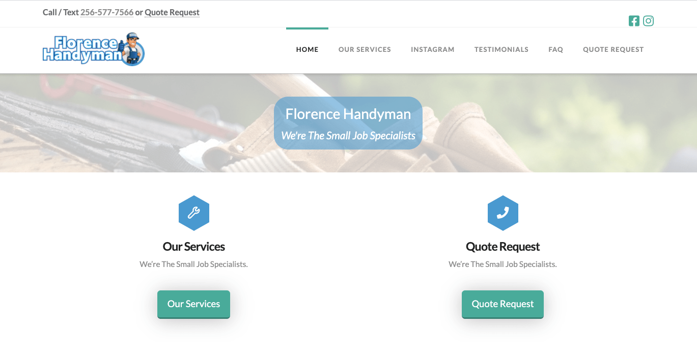 "Featured image for ""Florence Handyman"""