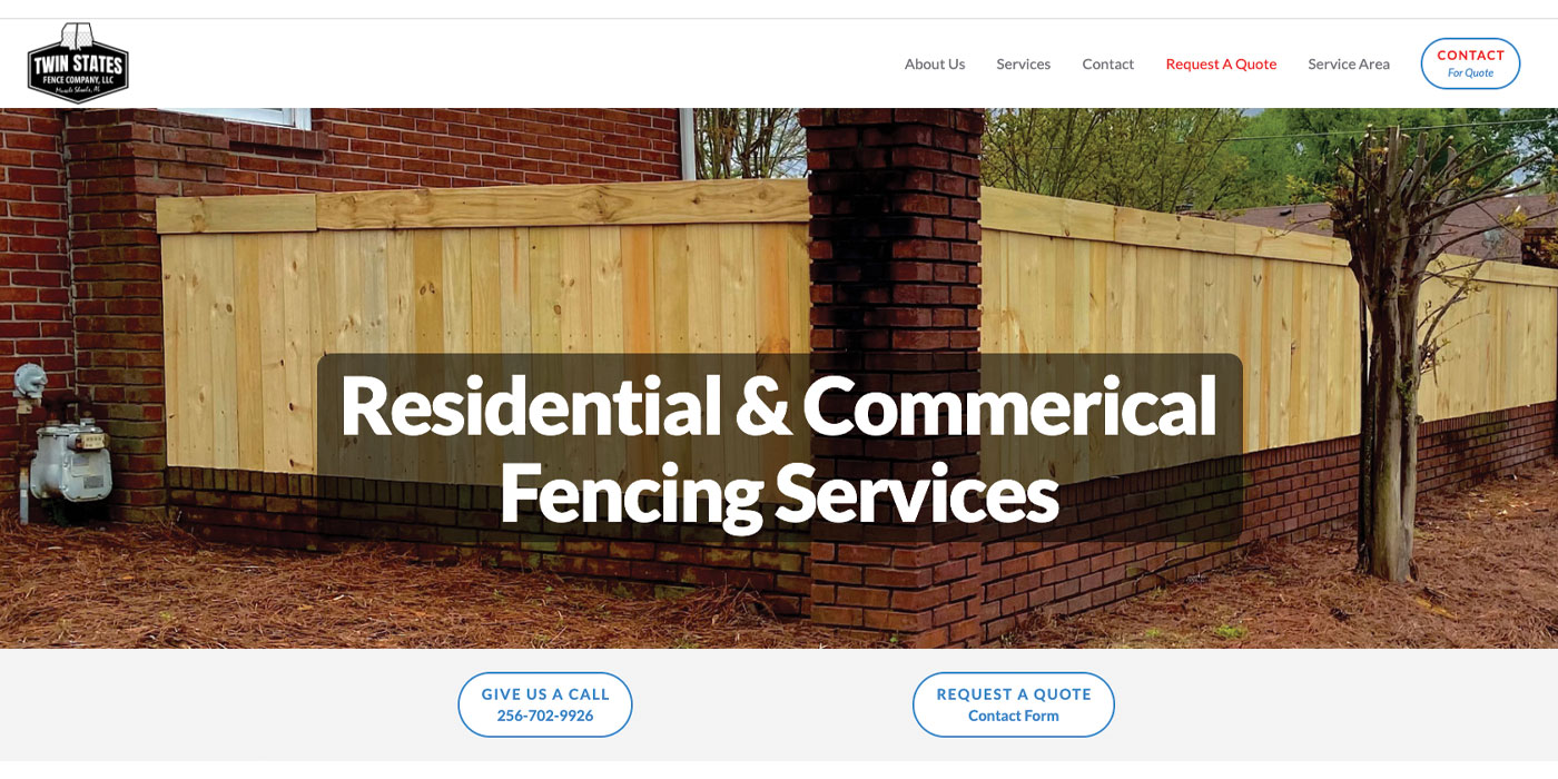"""Featured image for """"Twin States Fence Company"""""""